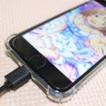 iPhone用充電リールケーブルをダイソーで買ってみた