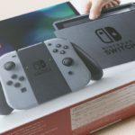 Nintendo Switchを開封してみた (Switch)